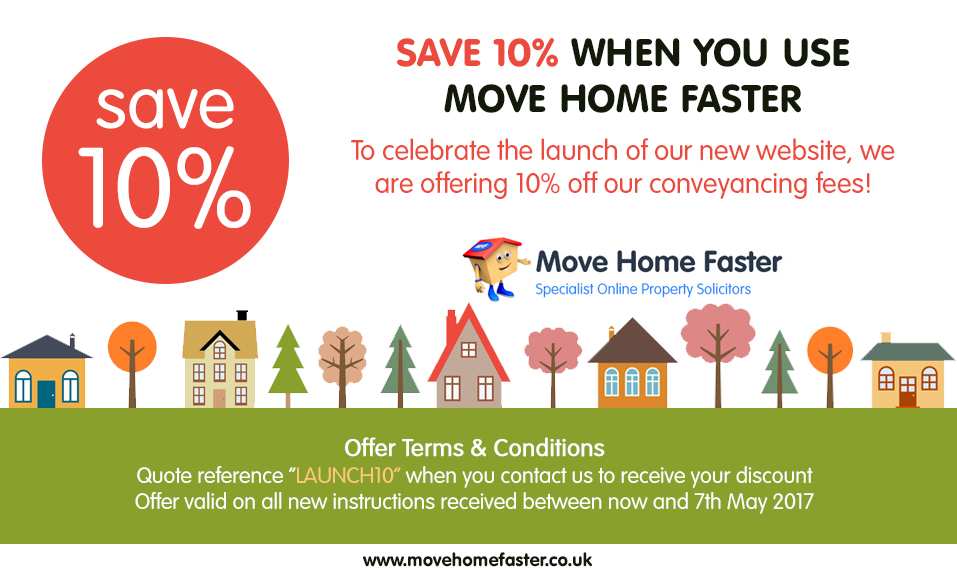 10% Off Conveyancing Fees | Cheap Online Conveyancing